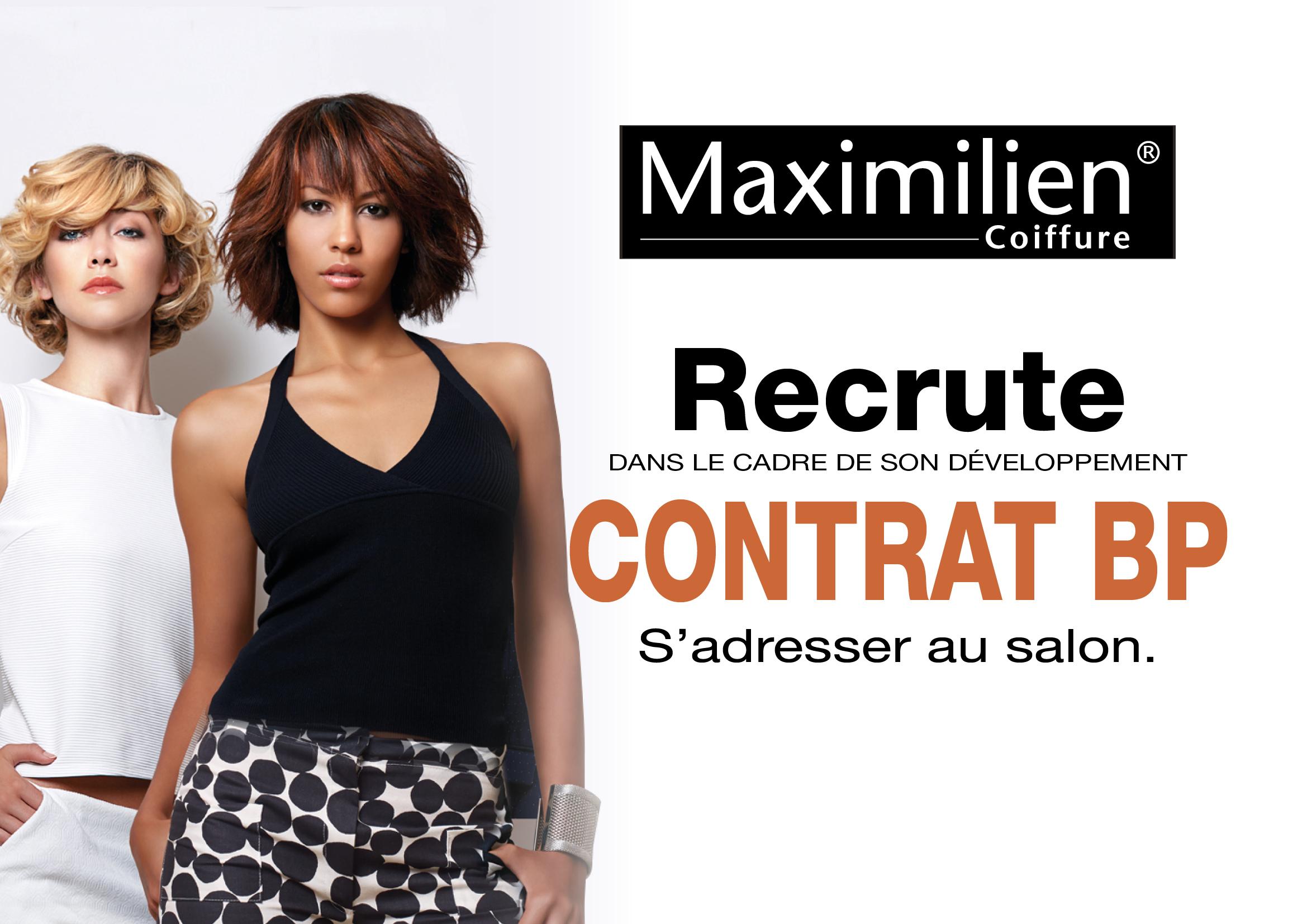 Maximilien Coiffure recrute